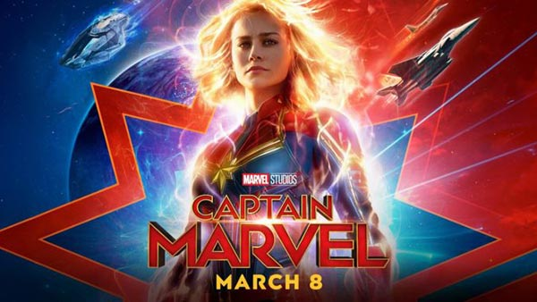 Captain Marvel 8 Mart 2019 Cuma Sinemalarda