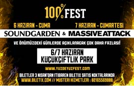Soundgarden & Massive Attack 100%FEST'te