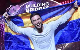 Eurovision, Måns Zelmerlöw, Heroes, Sweden, İsveç, Eurovision Song Contest, 2015